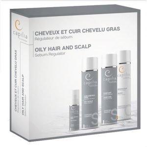 capilia oily hair and scalp kit